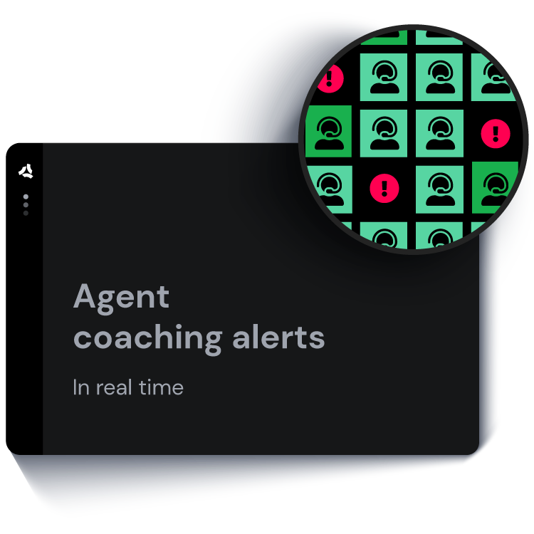 ASAPP - Agent coaching alerts in real tine