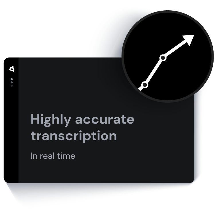 ASAPP - Highly accurate transcription in real time